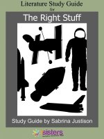 The Right Stuff Study Guide