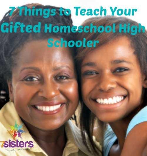 gifted homeschool high school student