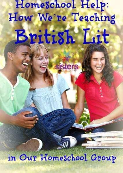 How We Homeschool British Literature in Co-op 7SistersHomeschool.com