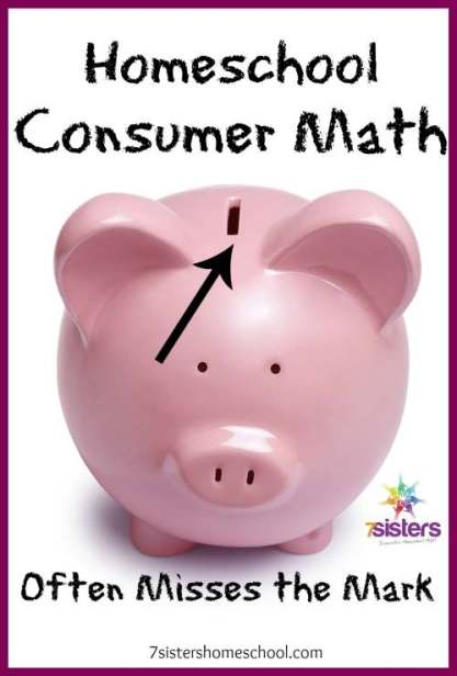 homeschool consumer math