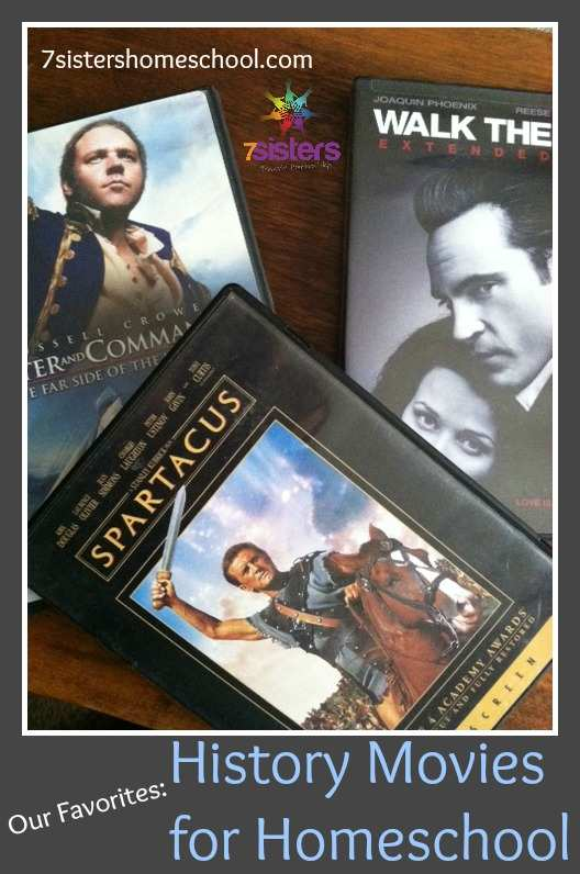 history movies for homeschool - our favorite titles for high school