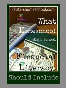 What Homeschool High School Financial Literacy Should Include