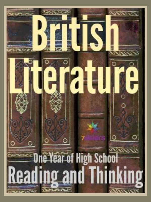 British Literature - One Year of High School Reading and Thinking