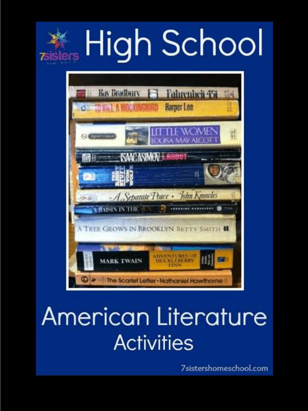 High School American Literature Activities