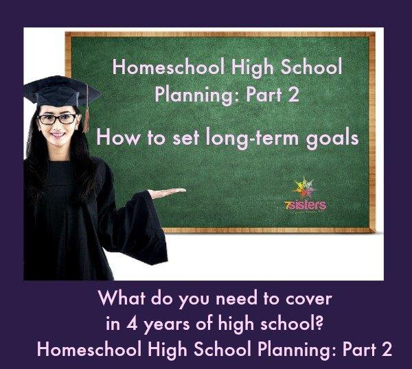 Homeschool High School Planning Part 2
