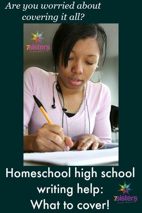 Homeschool High School Writing Help
