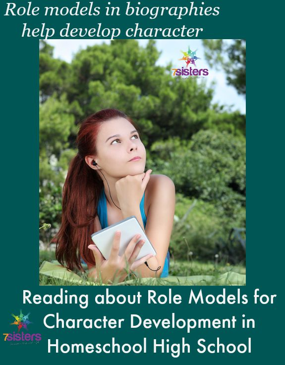 Reading about Role Models for Character Development in Homeschool High School