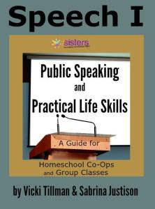 Speech 1: Public Speaking and Practical Life Skills 7SistersHomeschool.com Delightful speech course teaches teens that they CAN handle public speaking!