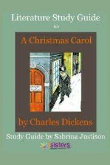 A Christmas Carol Literature Study Guide from 7SistersHomeschool.com