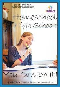 Homeschool High School You Can Do It from 20+year veteran homeschool moms at 7sistershomeschool.com