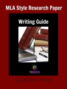 MLA Research Paper Writing Guide 7SistersHomeschool.com. Research paper guide for homeschool high schoolers using MLA format.