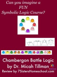 Chambergon Battle Logic Course by Dr. Micah Tillman Review by 7SistersHomeschool.com