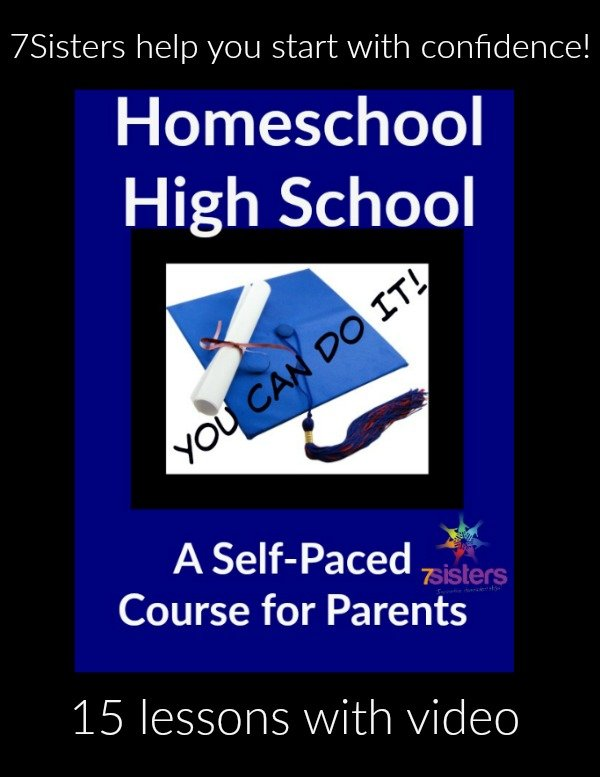 Self-Paced Online Course for Parents Homeschool High School: You CAN Do It!