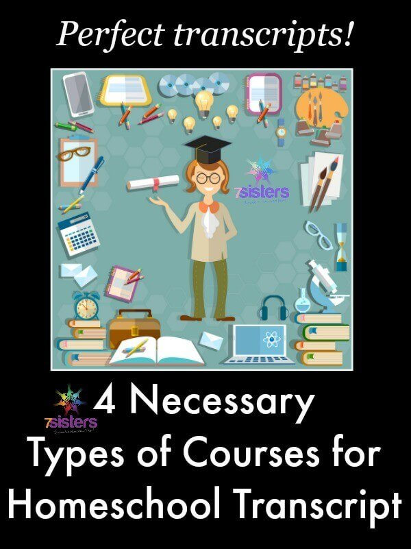 Types of Courses for Homeschool Transcript