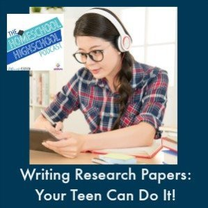 Homeschool Highschool Podcast Episode 61: Writing Research Papers