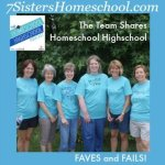 Homeschool Highschool Podcast Episode 17: Faves and Fails