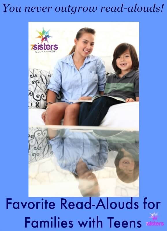 Favorite Read Alouds for Teens and Family 7SistersHomeschool.com