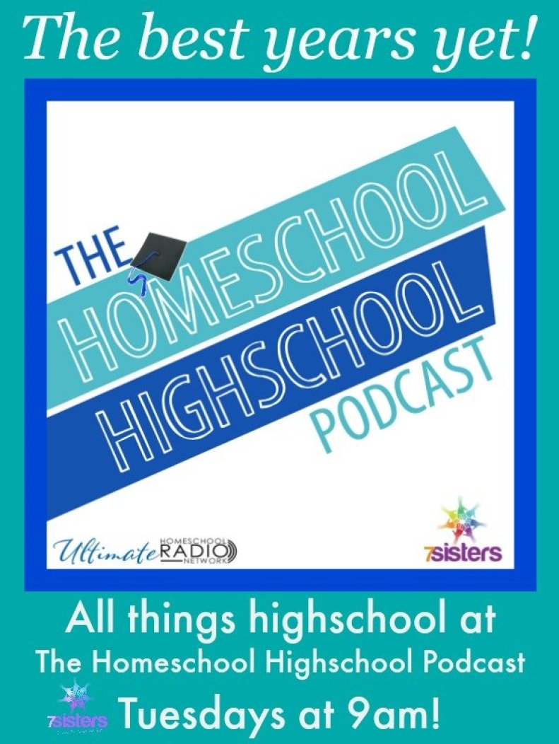 Join us for The Homeschool Highschool Podcast