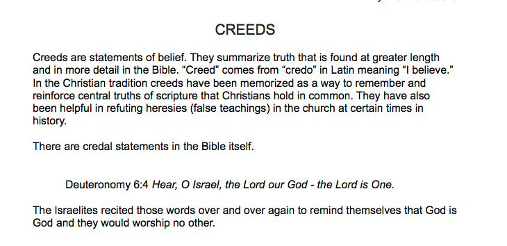 Hymns and Creeds Study Guide Excerpt 3