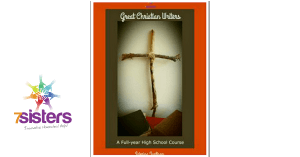Great Christian Writers, a full year literature curriculum based on real books and study guides (that are no-busywork, adaptable and user-friendly). Download the course for your teens. They will be encouraged and inspired. #HomeschoolHighSchool #GreatChristianWritersForTeens #HomeschoolLiterature #HomeschoolLanguageArts #7SistersHomeschool