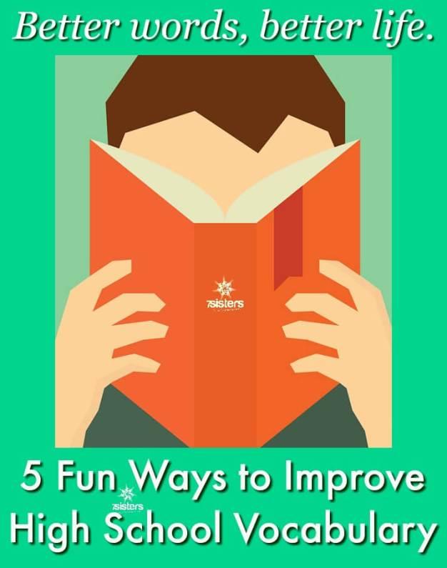 5 Fun Ways to Improve High School Vocabulary