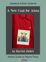 Activity Guide: A New Coat for Anna Elementary Literature Activity Guide