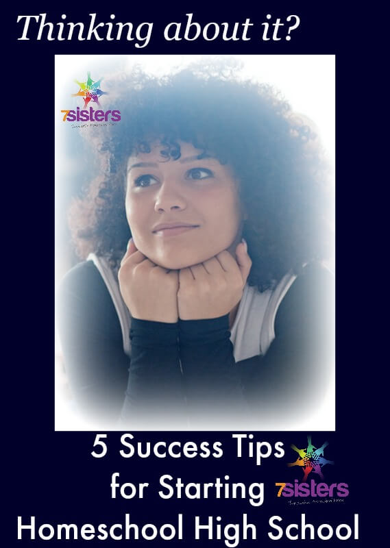 5 Success Tips for Starting to Homeschool High School