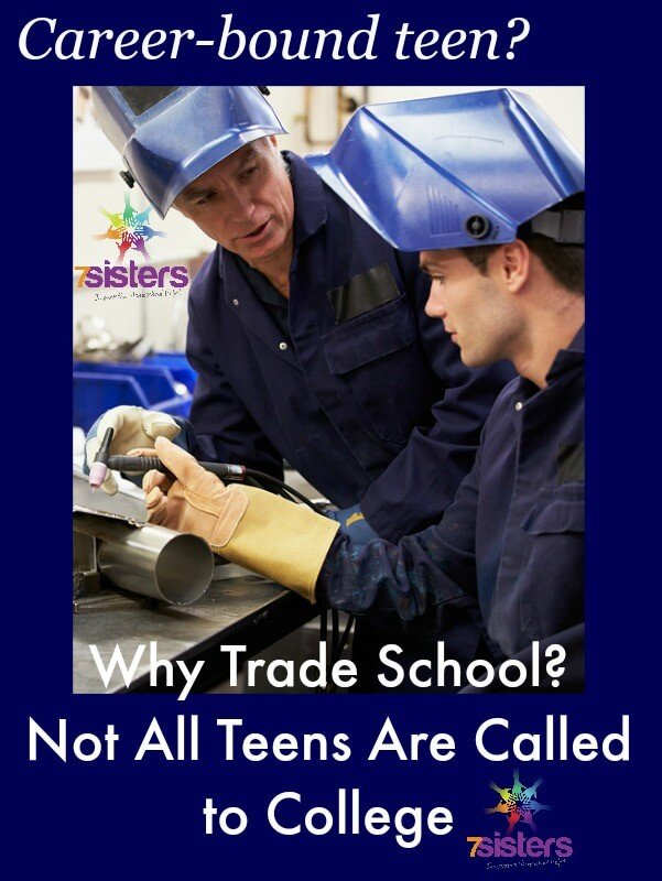 Why Trade Schools? Not All Teens Are Supposed to Go to College