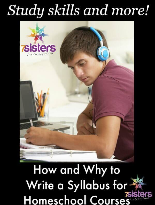 How and Why to Write a Syllabus for Courses in Homeschool High School