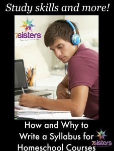Create Course Descriptions for High School How and Why to Write a Syllabus for Homeschool High School Courses