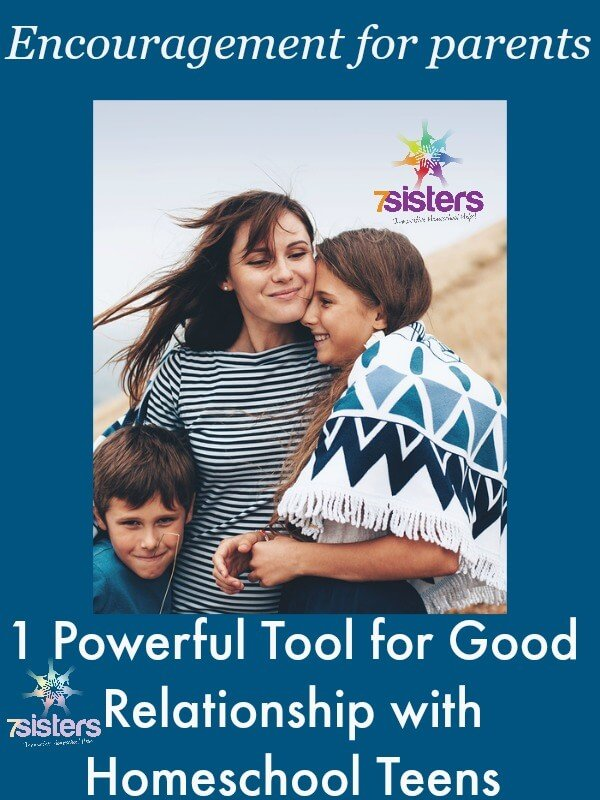 Powerful Tool for Good Relationships with Homeschool Teens