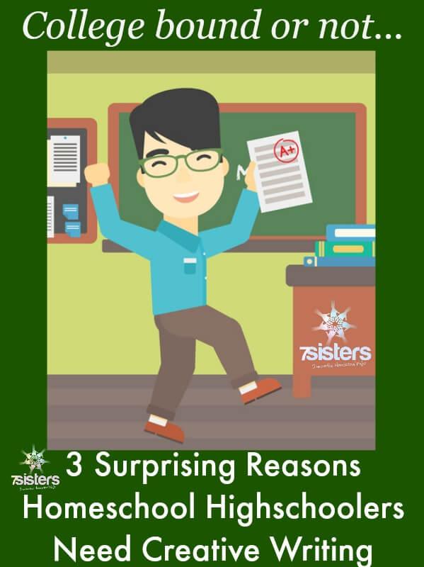 3 Surprising Reasons Homeschool High Schoolers Need Creative Writing