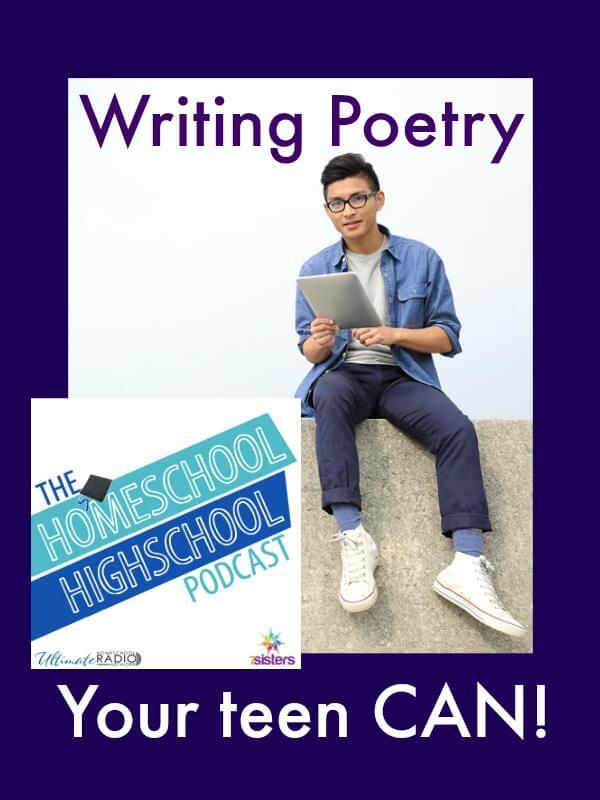 Homeschool Highschool Podcast Ep 62: Poetry- Your Teen Can Do It!