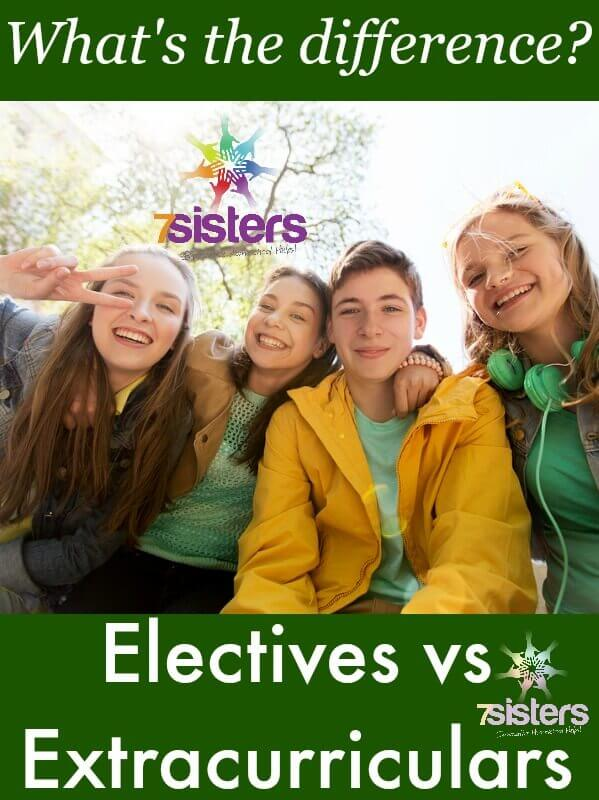 Difference Between Homeschool Transcript Electives and Extracurriculars
