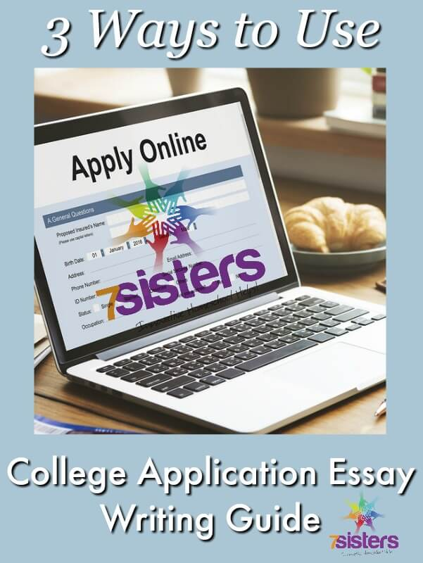College application essay writing online