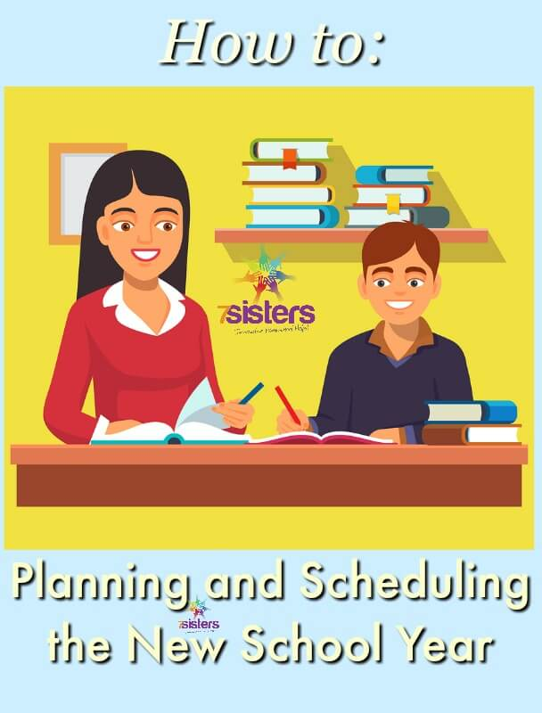 How to Plan and Schedule Your New Homeschool Year