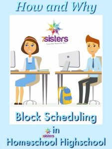 3 Ways to Schedule a School Year in Homeschool High School 3 Ways to Do Block Scheduling in Homeschool Highschool
