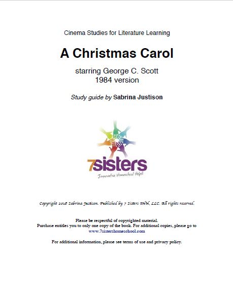 Christmas Carol Cinema Study Guide Excerpt 1