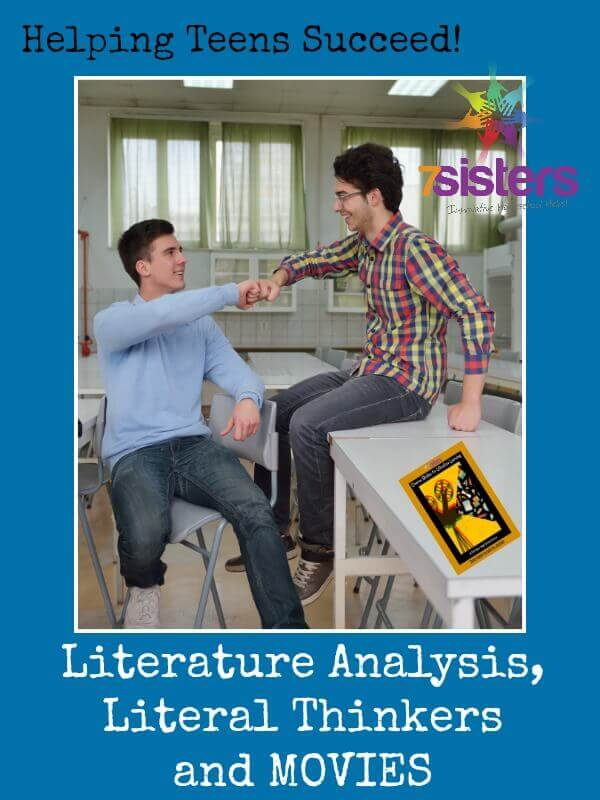 Literature Analysis, Literal Thinkers and Movies