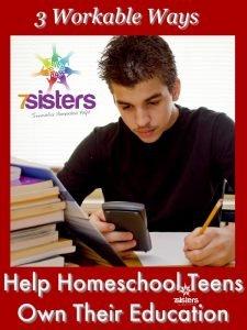 Rhythms of a Homeschool Year Ways to Help Homeschool Teens