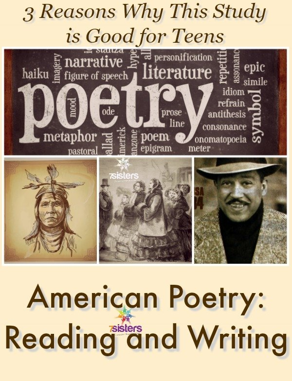 American Poetry: Reading and Writing is Good for Teens