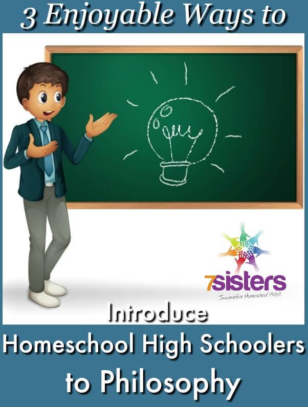 Ways to Introduce Homeschool High Schoolers to Philosophy