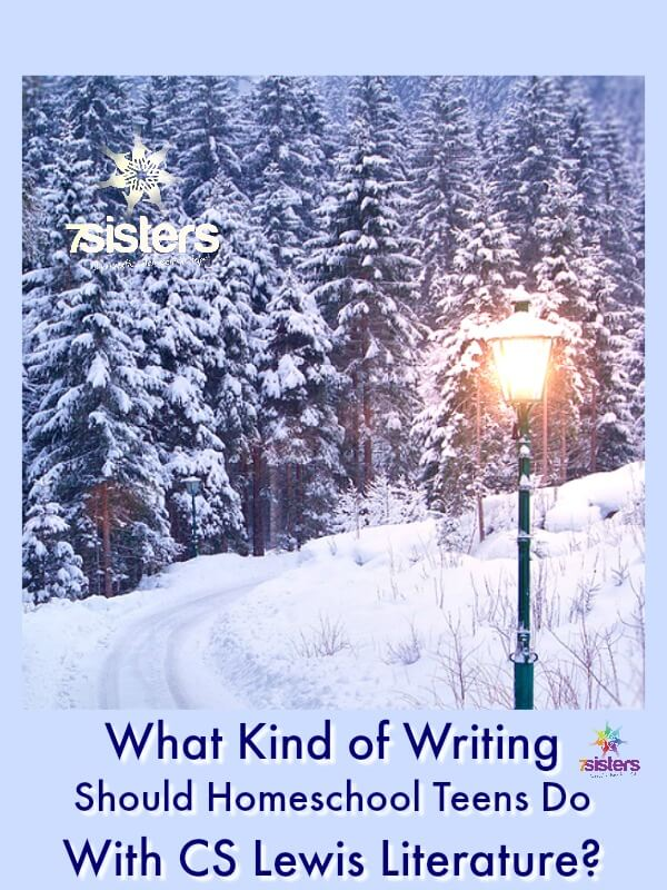 What Kind of Writing Should Teens Do With CS Lewis Literature? homeschool high school