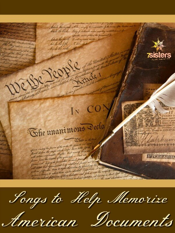 Songs to Help Memorize American Documents