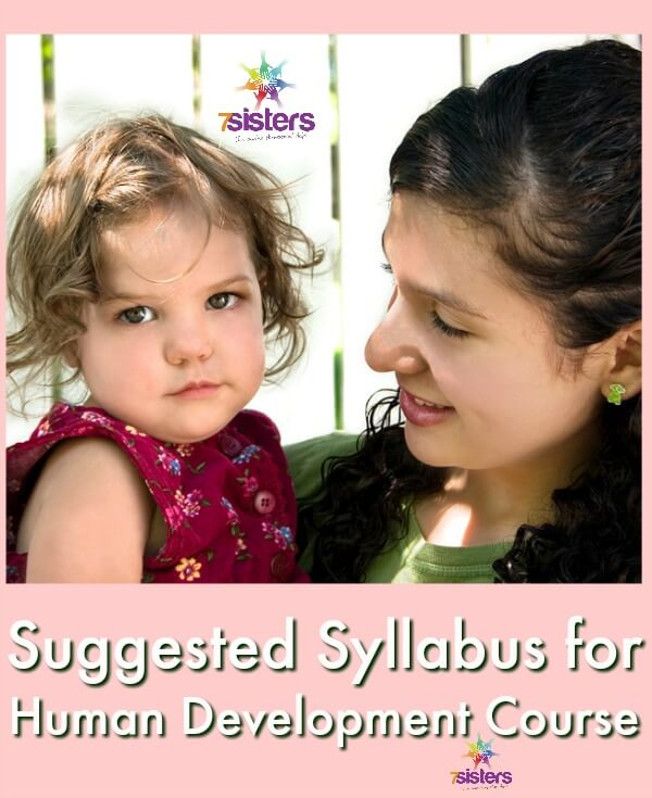 Suggested Syllabus for Human Development