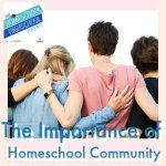HSHSP Ep 189: The Importance of Homeschool Community, Ann Karako. Popular homeschool guide, Ann, shares about community for moms homeschooling high school. #HomeschoolHighSchoolPodcast #HomeschoolCommunity #CommunityForHomeschoolMoms #AnnKarako #HowToHomeschoolHighSchool