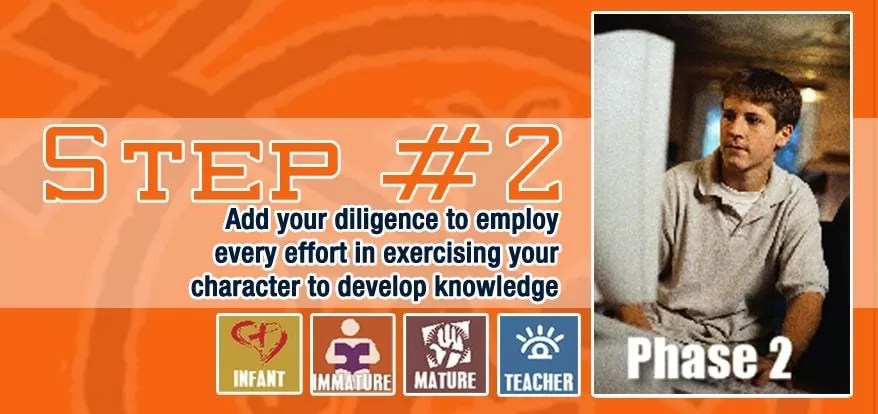 Step 2: With All Diligence Add Knowledge To Your Virtue