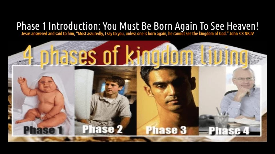 7 STEPS Episode 2: You Must Be Born Again To See Heaven! (audio/video)