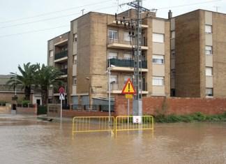 Cuartel inundado Puçol