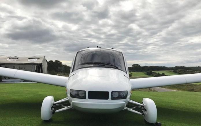 El coche volador